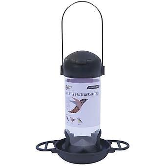 Henry Bell Essentials Range Wild Bird Suet Bites And Mealworm Feeder