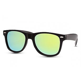 Okulary przeciwsłoneczne Unisex Wanderer Cat.3 Czarny/Zielony (CWI628)