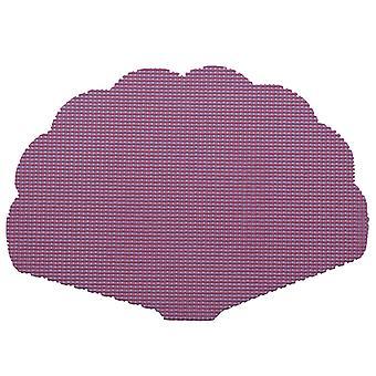 Fishnet Purple Shell Placemat Dz.