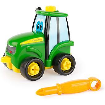 Tomy John Deere Build A Buddy Johnny Tractor