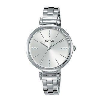 Lorus Damen schlank poliert Edelstahl Armband Uhr (Modell Nr. RG235QX9)