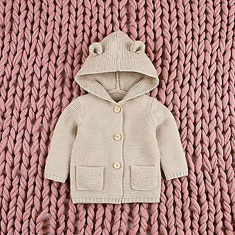 New Autumn Winter Sweaters - Baby Boys Girls Cartoon Cardigan Ears Clothing Coat