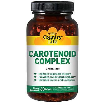 Country Life Carotinoid Complex, 60 Sftgls