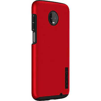 Incipio DualPro Case for moto z3 - Iridescent Red/Black