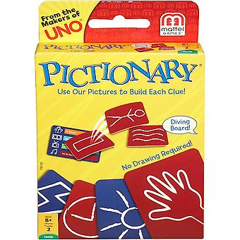 Mattel games pictionary card game review and rules for 8 year plus