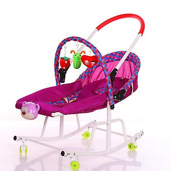 Baby Cradle Rocking With Music Player Swing Chair For Rocking Chair