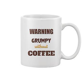 Advarsel Gretten uten kaffekrus -Bilde av Shutterstock