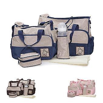 Moni wrap tas Stella, set met Wrapping pad, geïsoleerde tas voor baby flessen