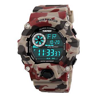 SKMEI 1019 Digital Watch Fashion Multi-funcional Sports Chronograph 50M