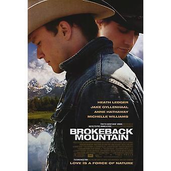 Secret de Brokeback Mountain film Poster Print (27 x 40)