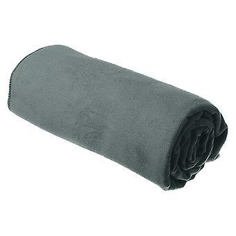 Sea to Summit DryLite Towel Small - Microfibre - Antibacterial - Grey ADRYASLGY