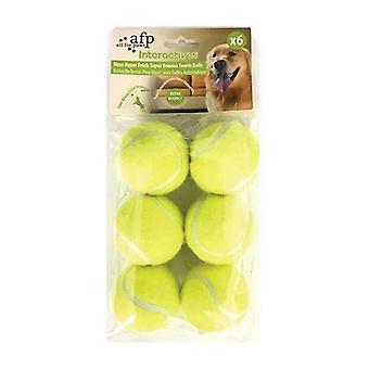 6 Pack Extra Skákací pes Fetch Míče AFP Hyper Maxi Super Bounce Tenis