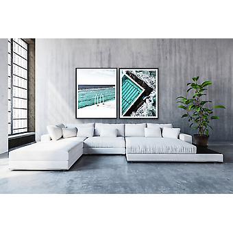 Bondi Icebergs Piscine Deux Pièces Wall Art Photographic Print