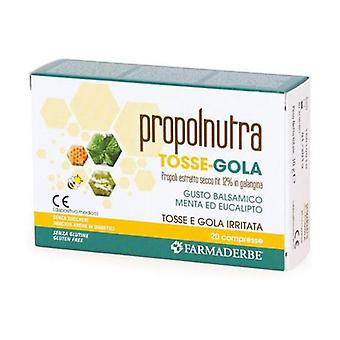 PROPOLNUTRA TOSSE-GOLA 20CPR 20 tablets
