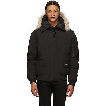 Canada Goose  Down Chilliwack Bomber Jacket Parka Mens Winter Hooded Warm Coat