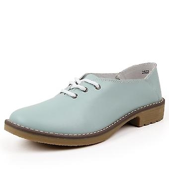 Flache Casual Damen Designer Oxford Lace Up Stiefeletten