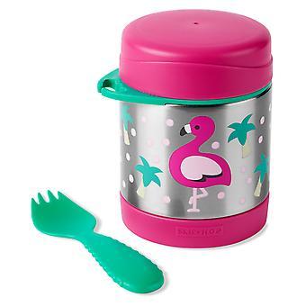 Skip Hop Zoo Thermos Food Jar Flamingo