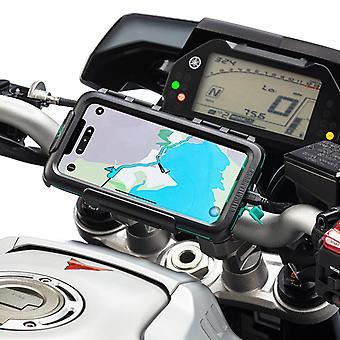 Apple iphone xr moottoripyörä ohjaustanko vedenpitävä tapauksessa mount