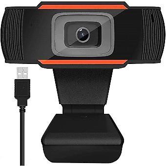 Full HD 1080p -verkkokamera - PC-kamera - oranssi - sisäänrakennettu mikrofoni