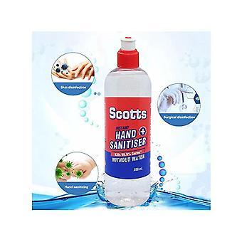 500Ml Scotts Instant Hand Sanitiser Alcohol Based Australian Made