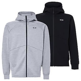 Oakley Mens 2021 Enhance QD Fleece Full Zip 11.0 Moisture Wicking Stretch Hoody