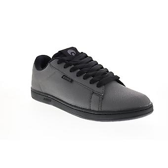 Osiris Icon  Mens Gray Synthetic Skate Inspired Sneakers Shoes