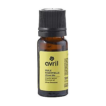 Organic lemon essential oil 10 ml of essential oil