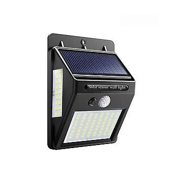 Solar Led Street Light, Fence Pir Motion Sensor Detection Wall Lamps 35 30 20