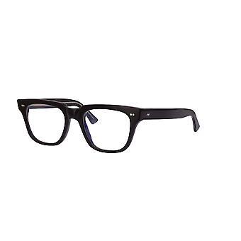 Cutler and Gross 1381 01 Black- Blue Light Lenses Glasses