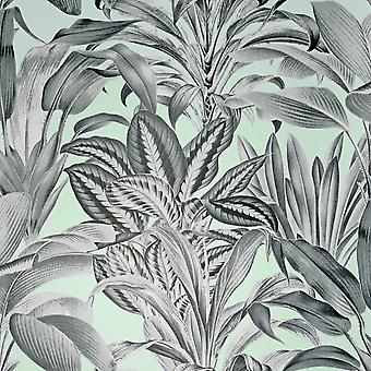 Växthus växter tapeter mynta Arthouse 909500
