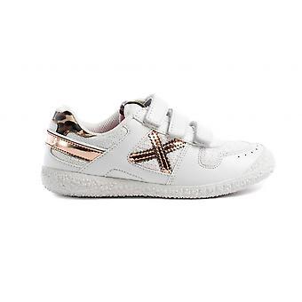 Shoes Baby Munich Sneaker With Strap Mini Goal Ecopelle/ White Fabric Zs21mu17 1513