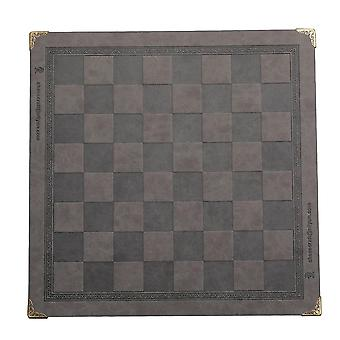 Unique Design Embossed Pattern Leather Chess Game