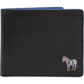 Paul Smith Lederen Billfold Zebra Coin Portemonnee