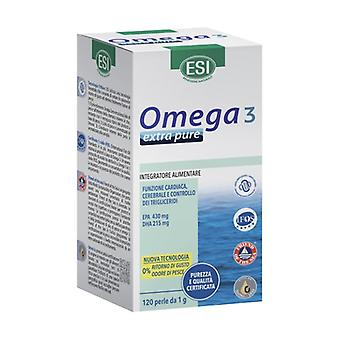 Extra Omega 3 as well 120 softgels of 1g