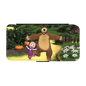Masha and The Bear Samsung Galaxy A32 5G Wallet Case