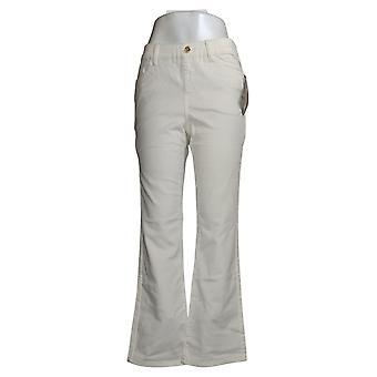 IMAN Global Chic Mujeres's Jeans Reg Ilusión Denim Blanco 734928100