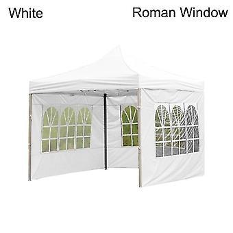 Nowy Odkryty Strona Wodoodporny Oxford Tkaniny Namioty Altanka Akcesoria Rainproof Baldachim Cover (biały)