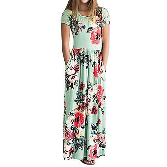 Kids Casual Sundress Outfits Maxi Dress With Pocket