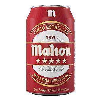 Øl Mahou 5 Estrellas (33 cl)