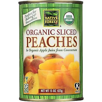 Native Forest Peach Slcd Org, Case of 6 X 15 Oz