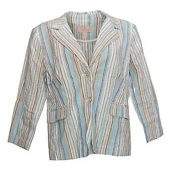 劳丽费尔特女装夹克/开拓者条纹作物蓝色A352555