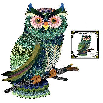 Children's Puzzles Animal Shapes Wood 3d Jigsaw Puzzle Owl-shaped Children Puzzles Gifts