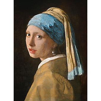 Clementoni Museum Het meisje met de parel, Vermeer legpuzzel (1000 stukjes)