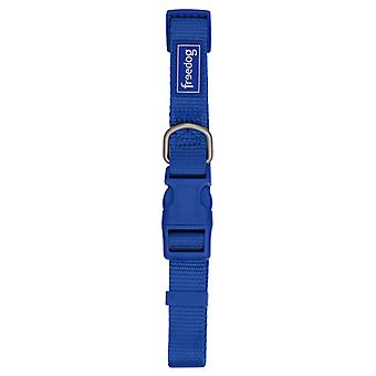 Freedog Basic Nylon Basic Necklace Red Blue