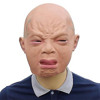 Cry Baby Kids Latex Mask Halloween Holiday Party Props Supplies