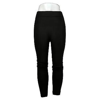 Rhonda Shear Damen Leggings XL/1X Reg/Plus Schwarz 679977