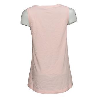 Modern Soul Women's Top Basic Tank Sleeveless Pink 653941