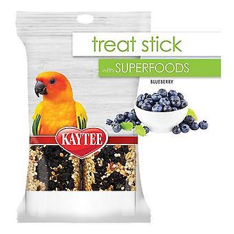 Kaytee Superfoods Avian Treat Stick - Blueberry - 5.5 oz