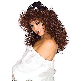 Sexy Vixen pirat Wench Buccaneer swashbuckler rezervați săptămâna femeii costum peruca