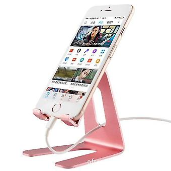 Phone stands mobile accessory charge stand phone holder pink